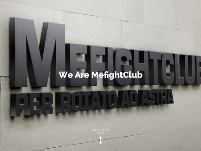 The Mefight.Club Network